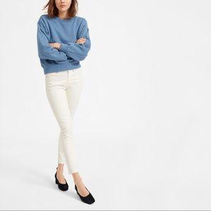 Everlane White Mid Rise Skinny Jeans 27 Regular